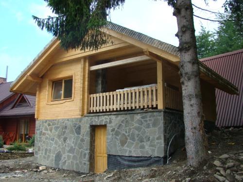 domki letniskowe drewniane spa 2 b